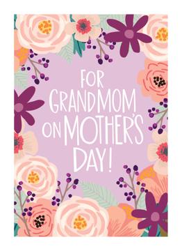 Floral Grandmom