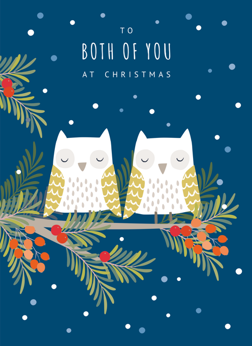 Both of You Owls Christmas