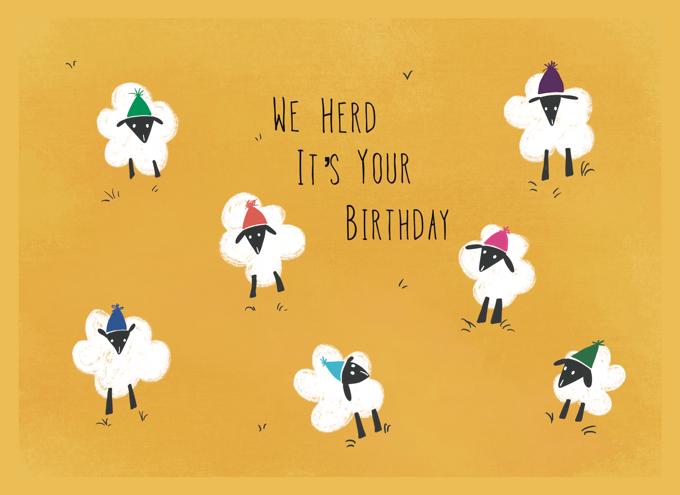 Happy Birthday Sheep