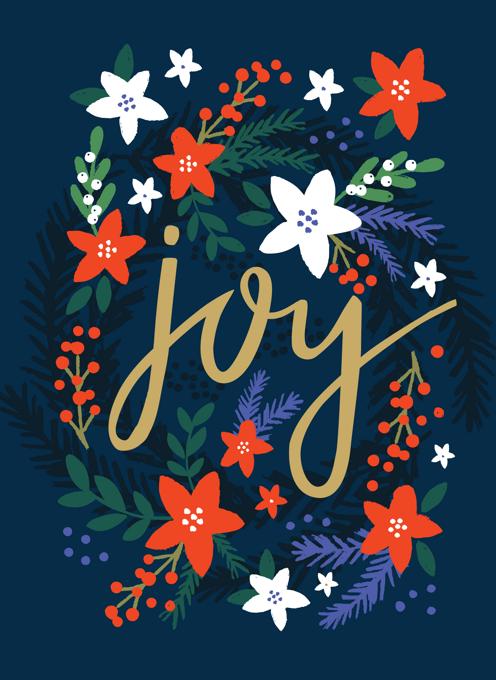 Joy Wreath Christmas