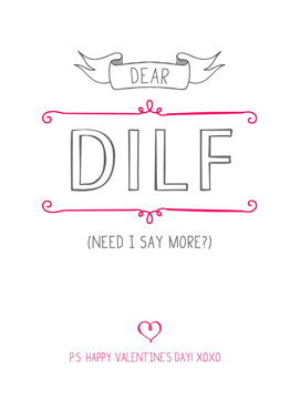 DILF Valentine