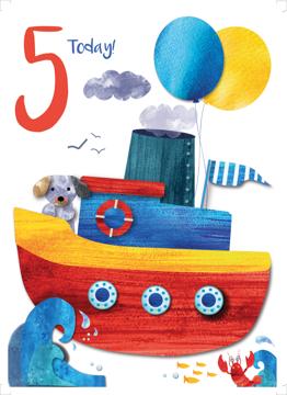 Age 5 Boat
