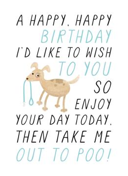 Poo Birthday