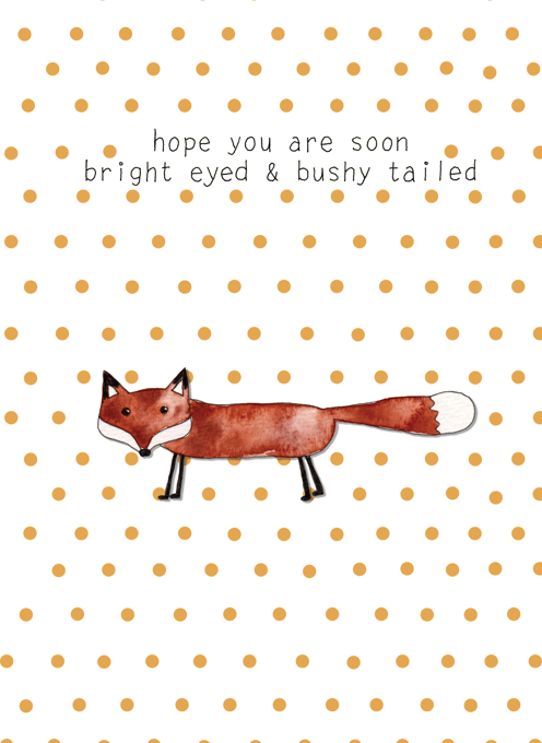Bright eyed and bushy tailed - Fox