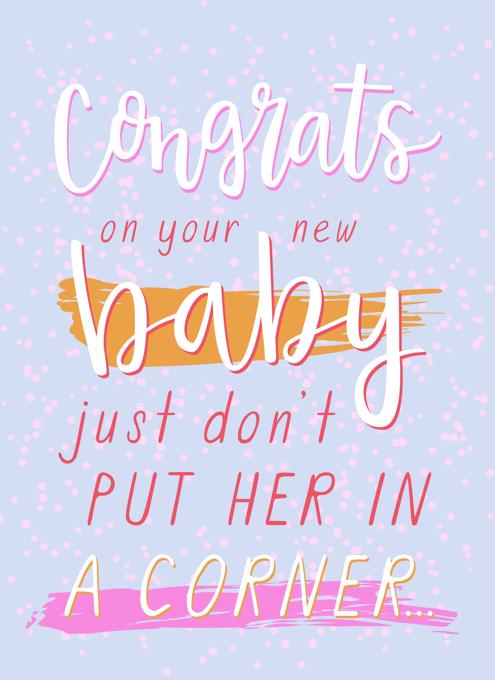Corner Baby Girl