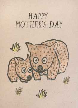 Mother's Day Wombat
