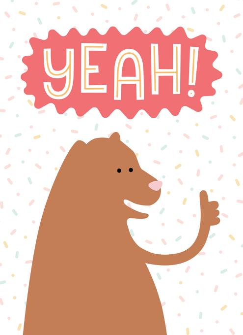 Thumbs Up Bear