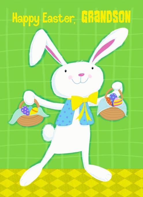 Grandson Easter Bunny
