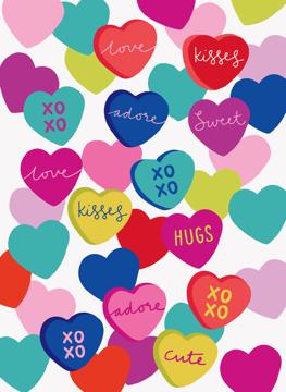 Love hearts Card