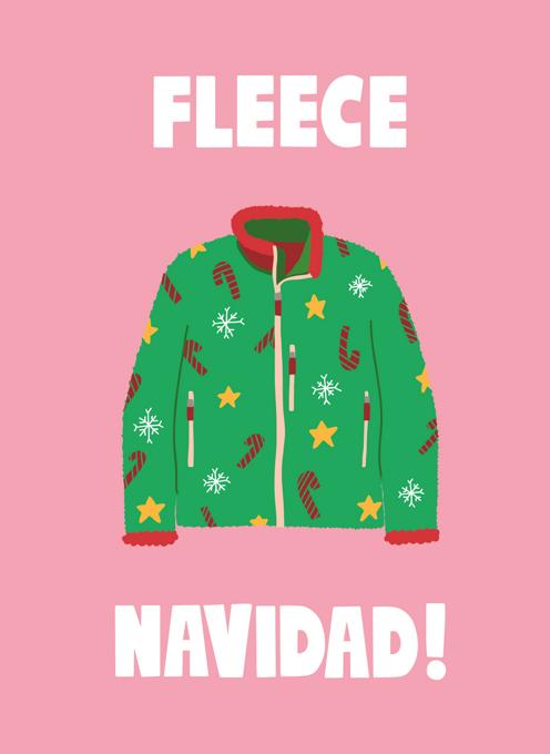 Fleece Navidad!