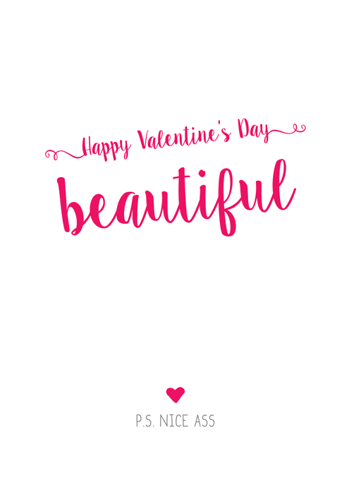 Happy Valentine's Day Beautiful