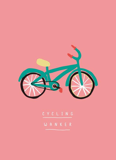 Cycling Wanker