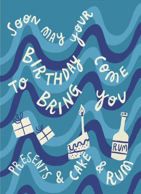 Sea Shanty Birthday (to bring you presents & cake & rum)