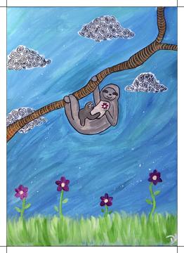 Momma Baby Sloth
