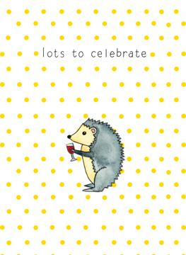 Lots To Celebrate - Hedgehog