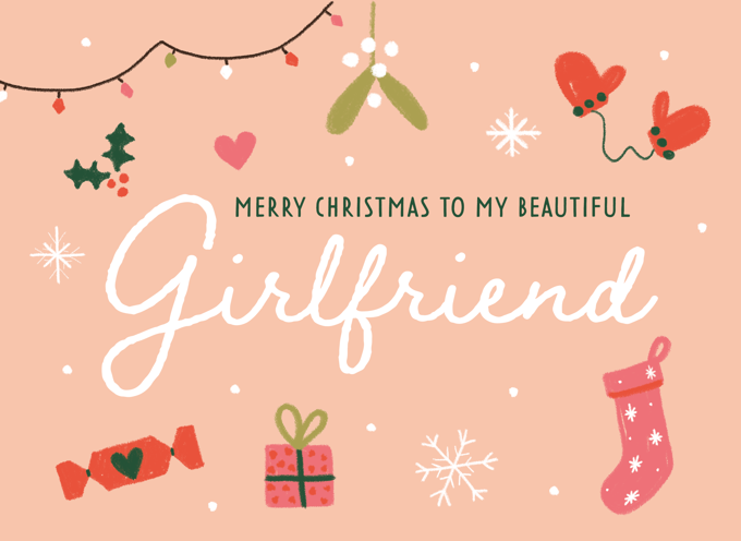 Merry Christmas Girlfriend