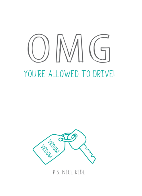 OMG You're Allowed To Drive