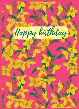Hot Pink Birthday