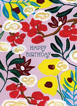 Birthday Poppies