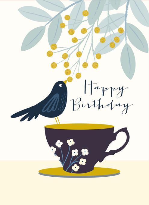 Birthday Blackbird