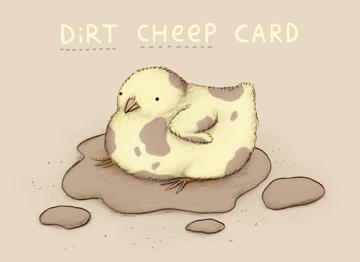 Dirt Cheep Card