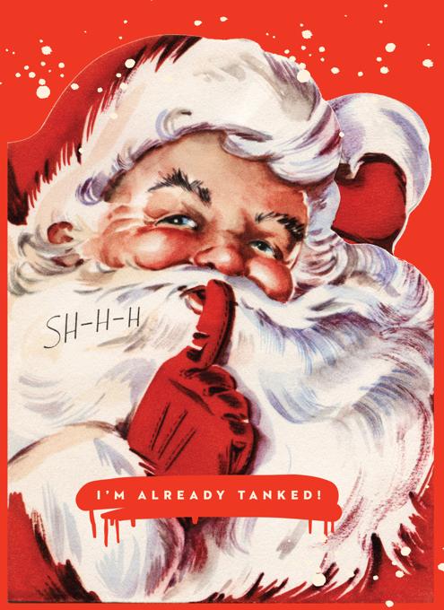 Santa Tanked