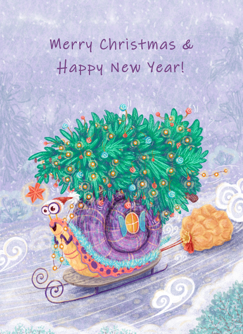 How Snails Celebrate The New Year
