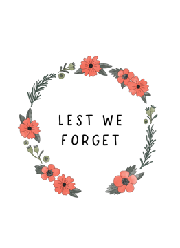 Lest We Forget - Wreath