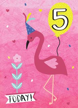Five Today Flamingo