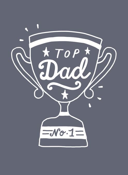 Top Dad Trophy