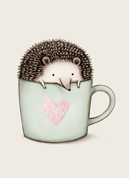 Hedgehog in a Mug