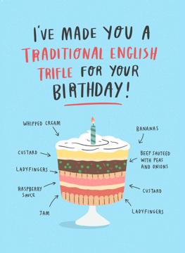 Birthday Trifle