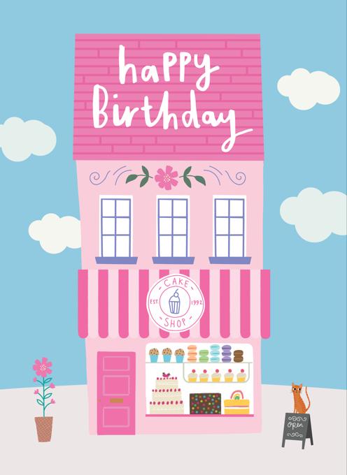 Cake Shop Birthday