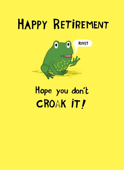 Retirement Frog