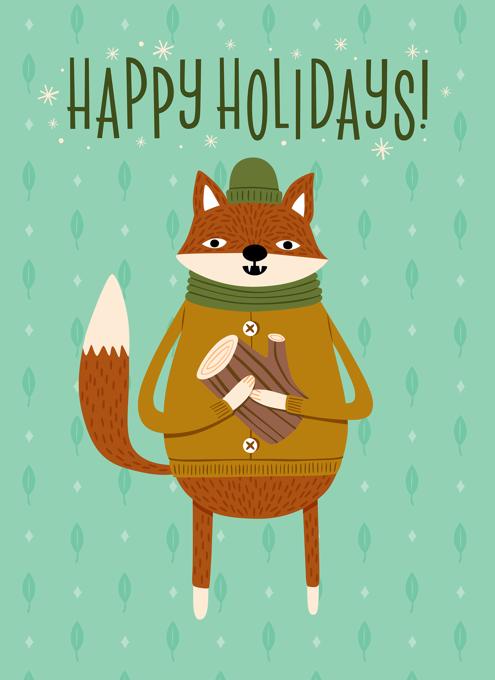 Fireside Fox