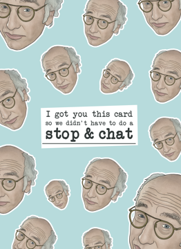 Larry David Stop Chat